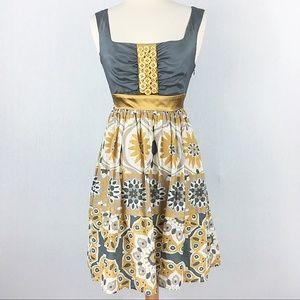 NWOT Anthropologie Bow & Arrow Silk Dress
